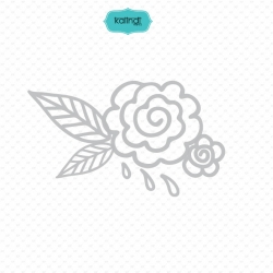 Hand drawn outlined floral elements, Flower wreath svg, Flower bouquet svg
