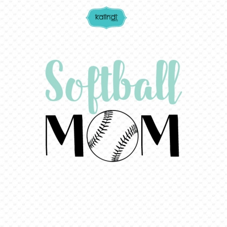 Softball Mom svg.