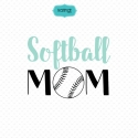 Sport mom svg, softball mom svg