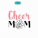 Sport mom svg, cheer mom svg