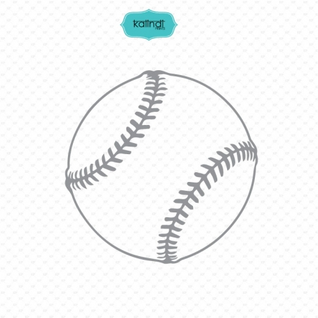 Sports ball svg files, baseball
