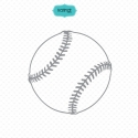 Sports ball svg files, baseball svg