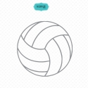 Sports ball svg files, volleyball svg