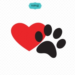 Dog lovers svg set, dogs svg, paws svg, flower svg, dog mom svg, animal svg, svg files.