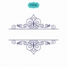 Split Frame SVG File, Split Frame Cricut, Frame Eps, Invitation Frame Svg, Split Frame File