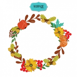 Fall Flower svg, Flowers wreaths svg, Flower bouquet