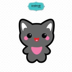 Cat svg, Halloween svg, halloween svg file, halloween kawaii, halloween, kawaii svg, black cat svg, cute halloween