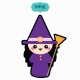 Witch svg, Halloween svg, Halloween svg file, Halloween kawaii, Halloween witch, Halloween, kawaii svg, cute halloweenHalloween