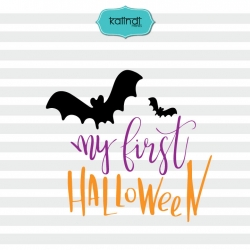 My first Halloween svg, Halloween svg, halloween for kids, baby svg