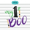 My first Boo svg, Halloween svg, Halloween, baby Halloween svg, Halloween svg file, Halloween, kids svg, svg file