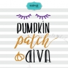 Pumpkin patch diva svg, Halloween svg, pampkin halloween svg, halloween saying