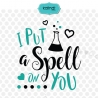 I put a spell on you SVG, Halloween SVG, Halloween clipart