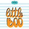 Little boo SVG, Halloween SVG, kids Halloween clipart, Halloween saying, baby cute SVG, Halloween files, cute Halloween SVG, bab