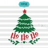 Christmas Tree SVG, Ho Ho Ho SVG