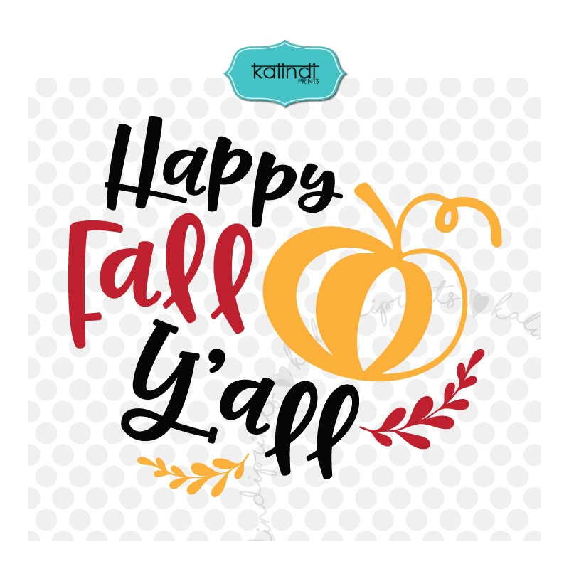 image about Happy Fall Yall Printable named Joyful slide yall SVG, slide SVG, drop decor, tumble symptoms