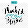 Thankful and blessed SVG, thanksgiving SVG
