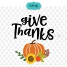 Give thanks SVG, thanksgiving SVG