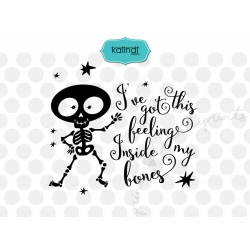 I've got this feeling inside my bones SVG