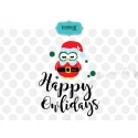 Happy Owlidays SVG, Merry Christmas SVG, Christmas gift