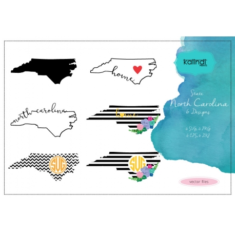 North Carolina state svg, NC vector file, North Carolina svg file, svg, North Carolina state, North Carolina silhouette