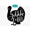 Gobble cobble SVG, thanksgiving SVG