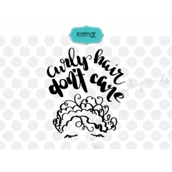 Curly hair svg