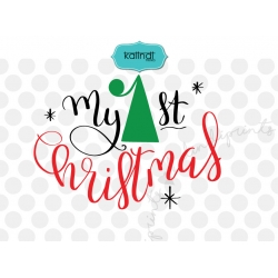 My first Christmas, Christmas SVG, first Christmas SVG
