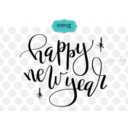 Happy New Year SVG, New Years SVG, Handlettering svg