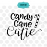 Candy cane cutie SVG, candy cane SVG, winter SVG, SVG file, cutie SVG