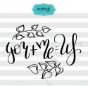you plus me svg, valentine svg, hand lettering svg, love svg, heart svg, heart dxf,