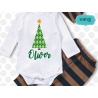 Plaid Christmas tree svg, Christmas svg