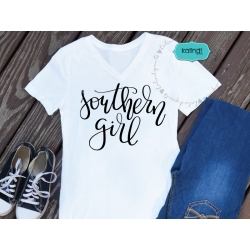 Southern girl SVG, hand-lettered SVG