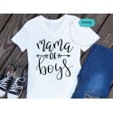 Mama of boys file, hand-lettered SVG, mother SVG, mother quotes clipart