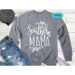 Southern mama svg, hand-lettered SVG, mother SVG, mother quotes clipart