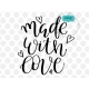 Made with love SVG, positive quote svg