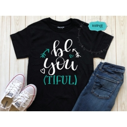 Be-you-tiful SVG, positive quote svg