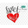 Sweet heart svg, valentine svg