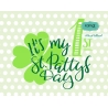 It's my 1st St. Pattys Day svg, st patricks day svg