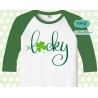 Lucky svg, st patricks day svg