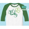 Get lucky svg, st patricks day svg
