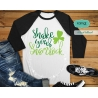 Shake your Shamrock svg, st patricks day svg