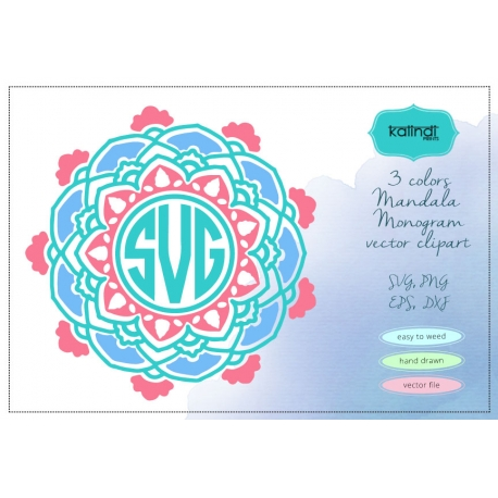3 colors mandala svg, mandala svg.